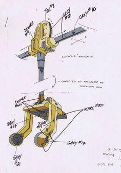 Star Wars Droids Original Cartoon Production R2D2'S Suspension Model CEL BV003   eBay