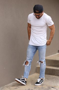 shredding wearing Ksubi denim & Vans