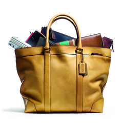 The Bleecker Legacy Leather Weekend Tote holds everything a man needs. Hmmmm