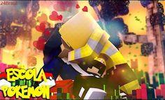 Minecraft : ESCOLA POKEMON - O BEIJO DE  YELLOW E JEAN ! #111
