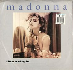 Madonna - Like A Virgin 45 Record 1980s