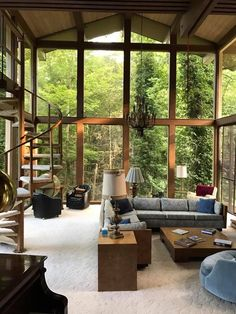 Tips, Tricks, And Techniques For The Best Camping Experience Cottage Extension, Beautiful Modern Homes, Kids Bedroom Designs, Garden Cafe, Indoor Swimming Pools, House Inside, Wooden House, Architecture Plan, House In The Woods