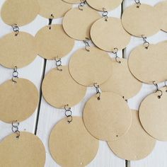 Birthday board hanging tags
