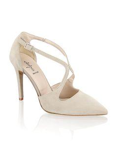 Alisha Veloursleder-Pumps - beige - Gratis Versand | Schuhe | Pumps | Online Shop | 1141501286