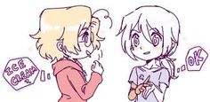 I love how 2p Prussia is mute and little Matty knows sign language to make him feel better