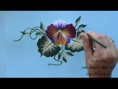 One Stroke Painting by Edit Harel - YouTube