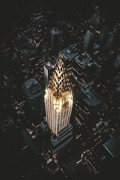 Chrysler Building by Jude Allen - New York City FeelingsYou can find Chrysler building and more on our website.Chrysler Building by Jude Allen - New York City Feelings Chrysler Building, Empire State Of Mind, Empire State Building, City Landscape, Urban Landscape, Urban Photography, Landscape Photography, Aerial Photography, Night Photography