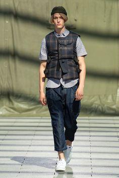 Junya Watanabe Spring 2019 Menswear Fashion Show Collection: See the complete Junya Watanabe Spring 2019 Menswear collection. Look 38 Vogue Paris, Bohemian Style Men, Japanese Fashion Designers, Outfits Hombre, Junya Watanabe, Best Mens Fashion, Interview, Harajuku Fashion, Fashion Show Collection