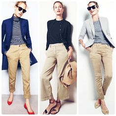 Work Casual, Casual Fall, Casual Chic, Casual Looks, Turtleneck Outfit, Striped Turtleneck, Casual Outfits, Fashion Outfits, Womens Fashion