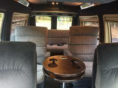 See our DIY van build unfold. Van Conversion Interior, Conversion Van, Slide In Truck Campers, Truck Camping, Van Camping, Camping Gear, Camping Hacks, Backpacking, Rv Camping