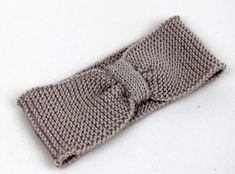 Stirnbänder - Stirnband Ohrenwärmer Haarband 100% merino beige - ein Designerstück von lucieandcate bei DaWanda Etsy, Breien