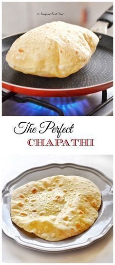 A very soft and puffed up Indian flat bread, Chapathi. Serve with Indian curry, … A very soft and bloated Indian flatbread, Chapathi. Serve with Indian curry, main courses or even a sandwich wrap. Plats Ramadan, Indian Flat Bread, Indian Breads, Good Food, Yummy Food, Healthy Food, Indian Food Recipes, Ethnic Recipes, Indian Food Vegetarian