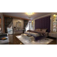 suite parentale sous les combles cr ation 3d d coration et am nagement d 39 espace par uniq. Black Bedroom Furniture Sets. Home Design Ideas