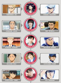 GoBoiano Community Spotlight: Luxicity - today, we would like to place a spotlight on Tumblr user Luxicity, who goes by Aly online! If you are like me and love sports anime and seiyuu, then you will definitely want to check out this amazing chart Aly created matching the seiyuu of Ace of Diamond with those of Haikyuu!!