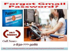 Tackle forgot Gmail Password problems in a jiffy 1-850-777-3086