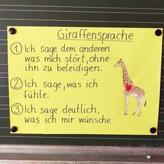 WOLF AND GIRAFF LANGUAGE In my class, I can hear so many times that someone has insulted someone. Many children simply do not learn from home how to rationalize a dispute. Art Education Lessons, Education System, Health Education, Elementary Education, Science Student, Social Science, Health App, Health Lessons, Primary School