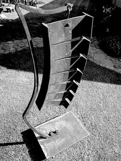 Art of Noise - #forged #iron #sound #sculpture #markpuigmarti - mark puigmarti