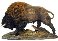 Large Buffalo Sculpture