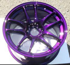 Dormant Purple Rims Powder Coat https://www.thepowdercoatstore.com/products/dormant-purple-powder-coat