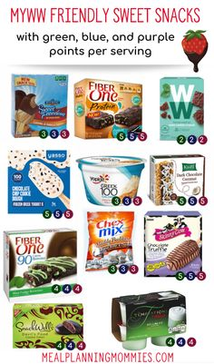 MyWW Smart Snacks - Green, Blue and Purple Point Totals - Meal Planning Mommies - MyWW Smart Snacks – Green, Blue and Purple Point Totals – Meal Planning Mommies The Effective P - Weight Watchers Snacks, Plan Weight Watchers, Weight Watchers Smart Points, Weight Loss, Weight Watchers Breakfast, Losing Weight, W Watchers, Weigh Watchers, Food Cakes