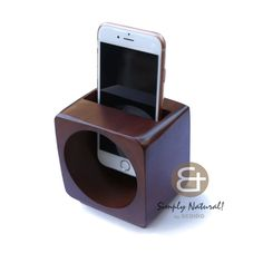nice Handmade Iphone Android Wooden Speaker Box