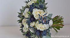 Google Image Result for http://www.bellaweddingflowers.com/blog/wp-content/uploads/2012/09/blue-thistle-bouquet.jpg