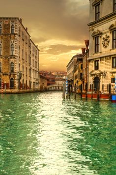Green Water TM - - - - - Green water and beautiful sunsets are just two of the things you will enjoy in Rome. #italy #rome