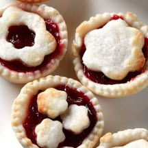 Cherry Pie Bites - Orange juice and zest make these fun-sized, party-perfect cherry pies a refreshing, tangy dessert.