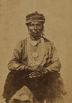 Osage man - circa 1868