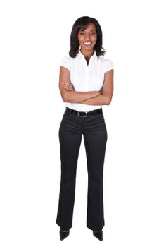 """A definite """"do wear"""" outfit for women interviewing for a clerical or call center job opportunity!"""