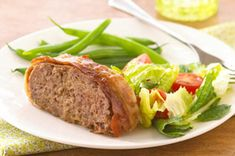Cheesy Bacon Meatloaf recipe;  Didn't love this one!