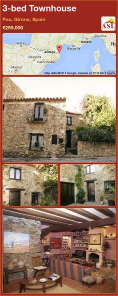 3-bed Townhouse in Pau, Girona, Spain ►€259,000 #PropertyForSaleInSpain