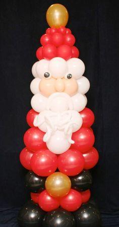 The Very Best Balloon Blog: Ho Ho Ho and all things Santa!