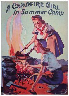 Summer Camp Vintage Book Cover