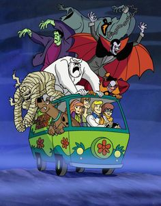 Scooby Doo: love all the animated movies