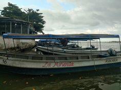 Rio Buritaca donde se une con el mar, departamento del Magdalena Magdalena, Boat, Vehicles, Scenery, Dinghy, Boats, Car, Vehicle, Ship