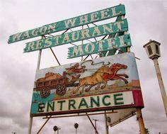 Wagon Wheel Motel, Oxnard, CA (demolished) Ventura Homes, Camping Near Me, Ventura County, Hotel Motel, Western Theme, Wagon Wheel, Bowling, Signage, Abandoned