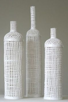 porcelain bottles