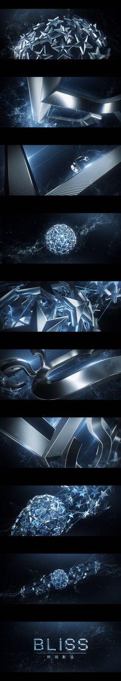 Style frames - motion graphic design Bliss Media / Idents on Behance