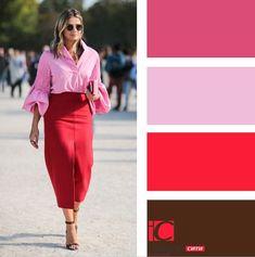 Women S Fashion Kalgoorlie Info: 8371190092 Colour Combinations Fashion, Color Combinations For Clothes, Color Blocking Outfits, Fashion Colours, Colorful Fashion, Color Combos, Color Mix, Winter Typ, Minimalist Fashion Women
