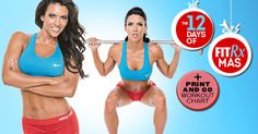 Timesaving Holiday Workouts with Amanda Latona's full-body program - plus HIIT circuits. That's a bad ass routine. It feels so good to be bad...
