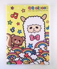alpaca stationery