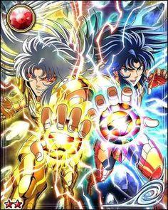 Resultado de imagen para galaxy card battle saint seiya