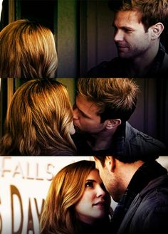 """Alaric and Jenna from """"The Vampire Diaries"""""""