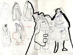 Fashion Sketchbook Central Saint Martins Alex Russo For 2019 fashion portfolio Alex Russo, Fashion Sketchbook, Fashion Sketches, Sketchbook Ideas, Sketchbook Drawings, Doodle Drawings, Central Saint Martins, Silhouette Mode, Fashion Show Party