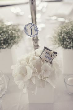I like how the incorporated the flowers with # pin in it