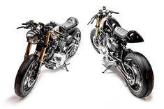 Wrench Kings' 'Bertus and Brutus' Yamaha XV1000 Cafe Racers