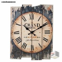 30 Best Country Wall Clock Images In 2020 Country Wall Clock Decoupage Paper Decoupage Vintage