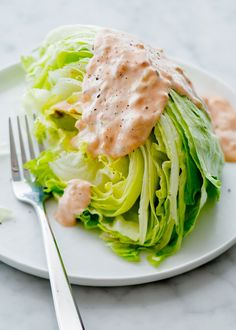 Thousand Island Dressing, wedge salad