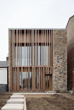 INSPIRACIÓN - Momocca #modernarchitecturebrick #UrbanExteriorDesign